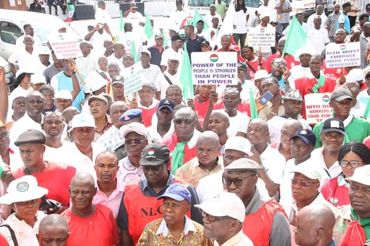 NIGERIA AT 60: CELEBRATING TOGETHERNESS – NLC FELICITATE WITH NIGERIANS