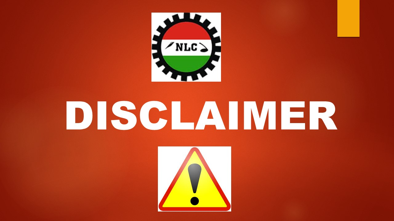 DISCLAIMER ON THE POSITION OF NATIONAL RECORD ON THE PROBE OF THE NATIONAL SOCIAL INSURANCE TRUST FUND