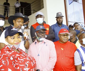 A day of Victory for Labour in Rivers state as NLC and the State Government agree to end  anti workers policies in the State