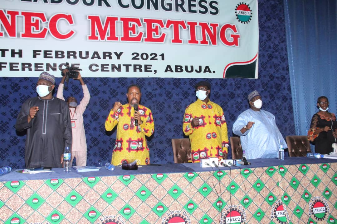 DEMANDING ANSWERS AT VERY UNUSUAL TIMES – NLC