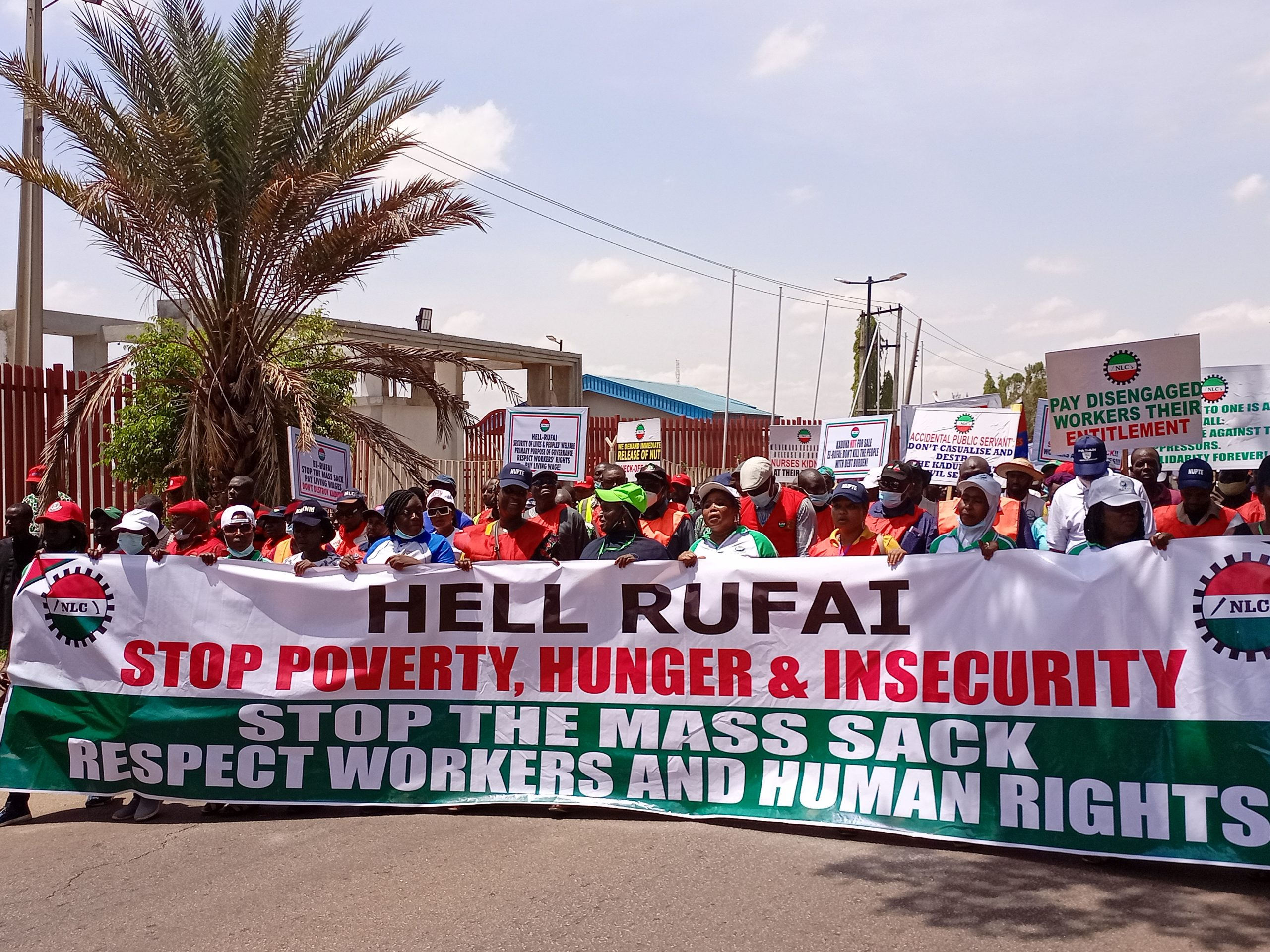 KADUNA WORKERS ARE NOT SLAVES! – THEY HAVE RIGHTS !!